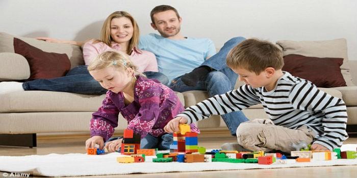 Lepo je igrati se sa svojim decom